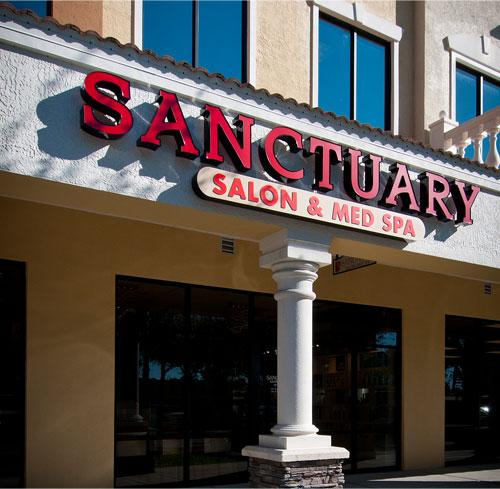 Contact Us Sanctuary Salon